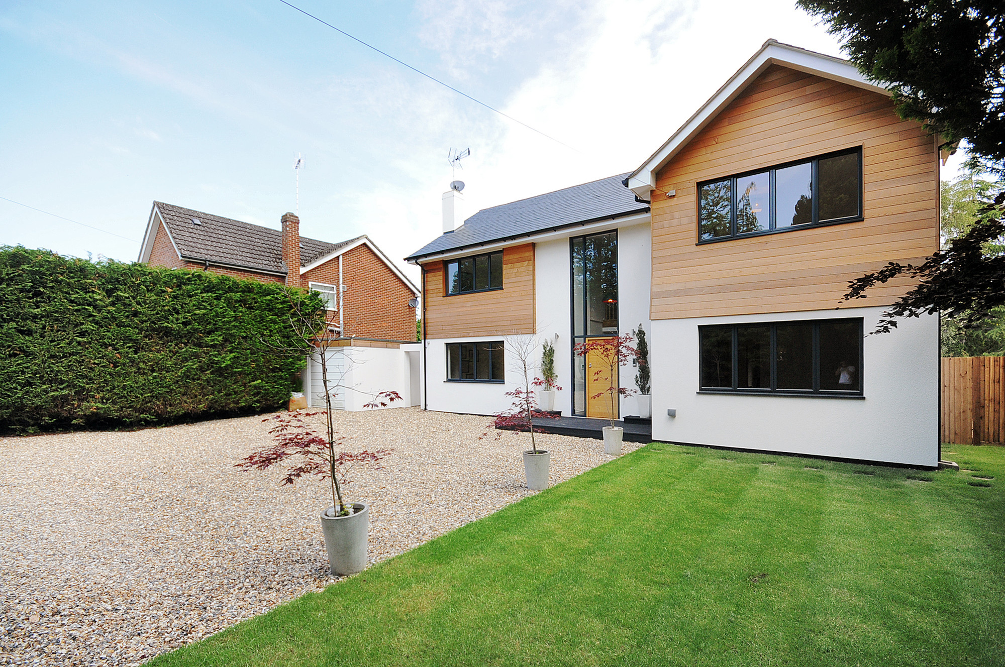 Conversion of bungalow to two storey house hampshire - What is a bungalow house ...