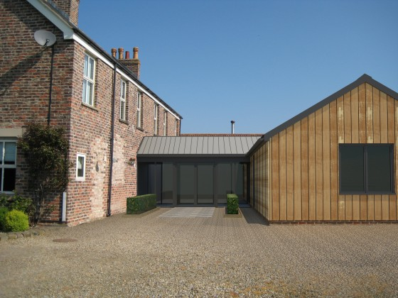 Work Starts On Another Contemporary Extension In North