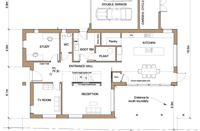 Contemporary Passivhaus in Farnham, Surrey