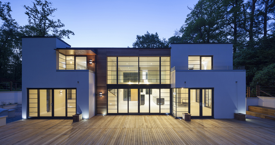 Contemporary bwp architects architects in surrey Contemporary house designs uk