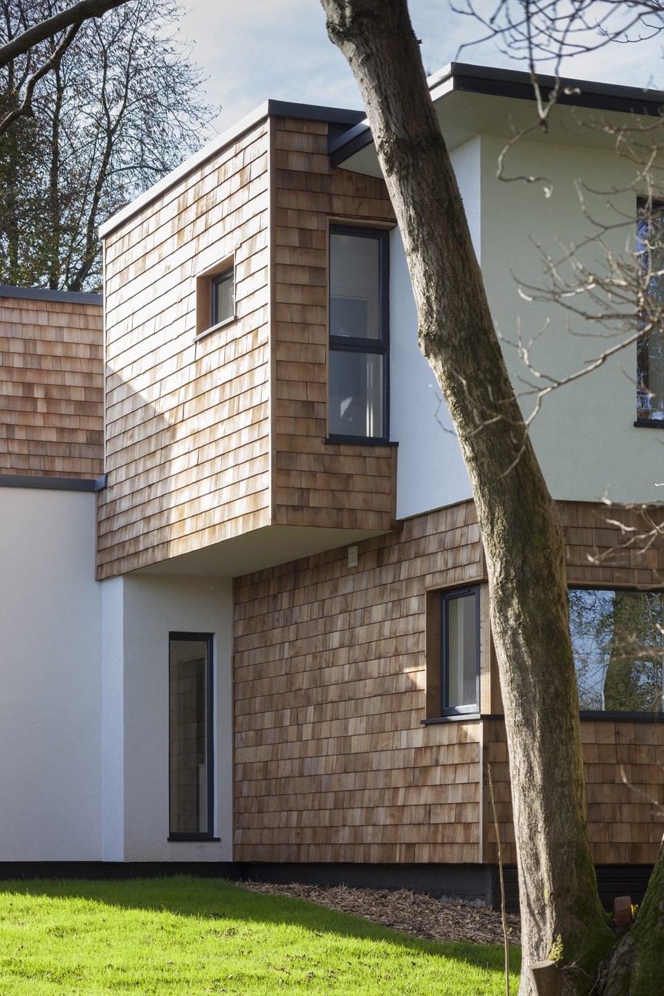 Two new contemporary homes hampshire