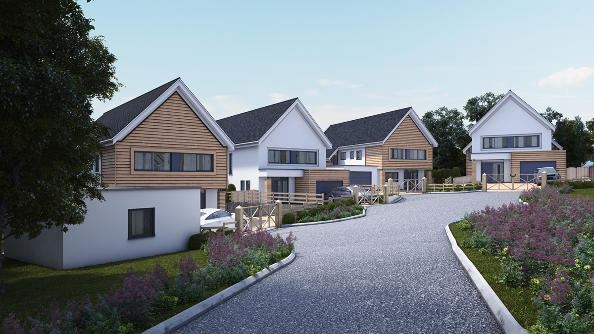 Contemporary new homes developers projects residential new build