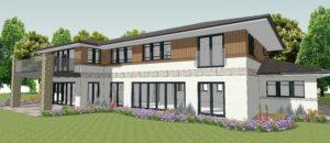 New house in south Farnham, Surrey