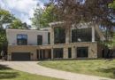 Contemporary 5,500sqft Detached Home on woodland sloping site in Farnham, Surrey