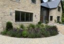 Landscaping works for new home in Surrey Hills completed
